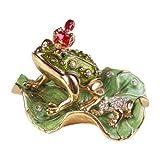 [ピィアース] PIEARTH 宝石箱 ジュエリーボックス 王冠カエル 230-1