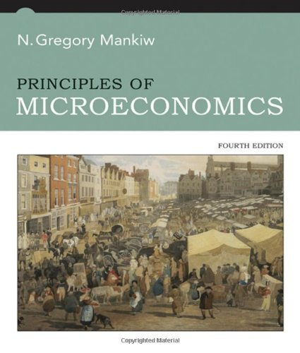 Amazon.com: Principles of Microeconomics (9780324319163): N. Gregory Mankiw: Books