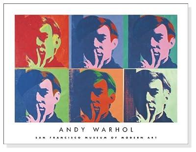 ポスター アンディ ウォーホル A Set of Six Self Portraits 1967