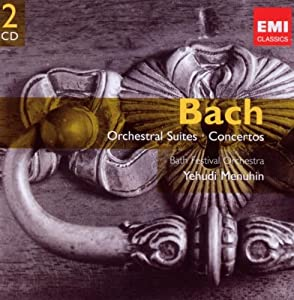 Bach Orchestral Suites Concertos Gemini from EMI