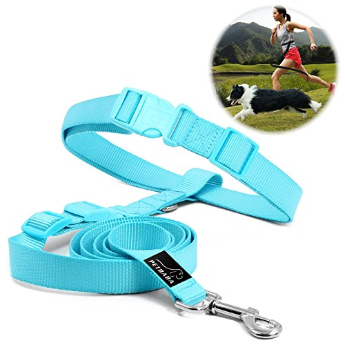 hundeleine-jogging-petbaba-90-150cm-lang-hande-frei-nylon-training-hunde-leine-mit-handschlaufe-fur-