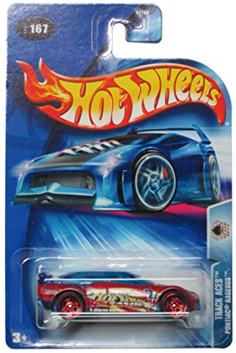 Hot Wheels 2004 Track Aces Pontiac Rageous #167 - Pr5 Wheels
