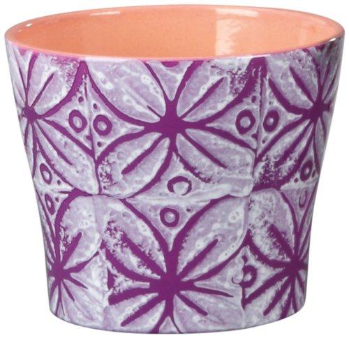Scheurich 808/15 Purple Flower Pot Cover