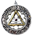 New Order of the Ages Pendant: Pyramid Eye (Knights Templar)