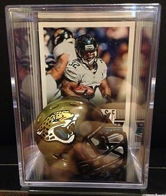 Jacksonville Jaguars NFL Helmet Shadowbox w/ Maurice Jones-Drew card