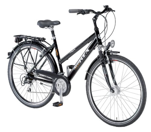 alu rex damen trekking fahrrad 24 gang kettenschaltung. Black Bedroom Furniture Sets. Home Design Ideas