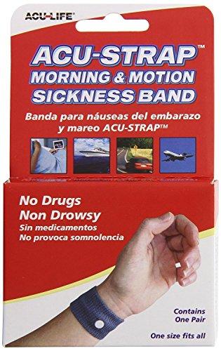 ACU-LIFE つわり・乗り物酔い お助けバンド/ 酔い止めバンド/Motion Sickness Relief Band