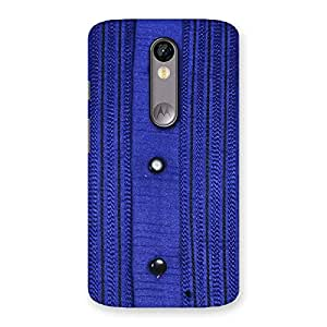 Style Royal Blue Back Case Cover for Moto X Force