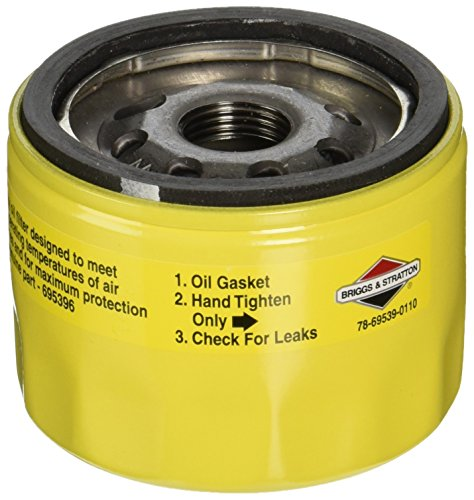 Briggs & Stratton 696854 Oil Filter Replacement for Models 79589, 92134GS, 92134 and 695396 (Briggs And Straton Oil Filter compare prices)