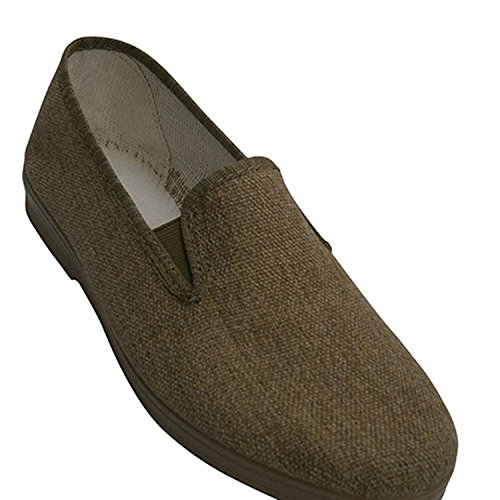 Scarpe di tela con gomma sui lati Chapines tostato taille 43