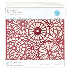 Martha Stewart Crafts Die-Cut Pages 12'' X 12'' Foil By The Package