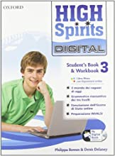 High spirits digital. Student's book-Workbook-Mydigitalbook 2.0. Con espansione online. Per la Scuola media. Con CD-ROM: 3