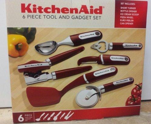 KitchenAid 6pc Tool and Gadget Set (Kitchenaid Peeler Set compare prices)
