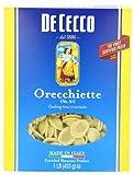 De Cecco Orecchiette, 16-Ounce Boxes (Pack of 5)