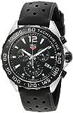 TAG Heuer Men's 'Formula 1' Swiss Quartz Stainless Steel and Rubber Dress Watch, Color:Black (Model: CAZ1010.FT8024)