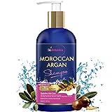 #10: St.Botanica Moroccan Argan Hair Shampoo 300ml - No SLS / Paraben - With Argan Oil, Silk Protein, Almond Oil, Rosemary, Jojoba Oil, Green Tea & B5