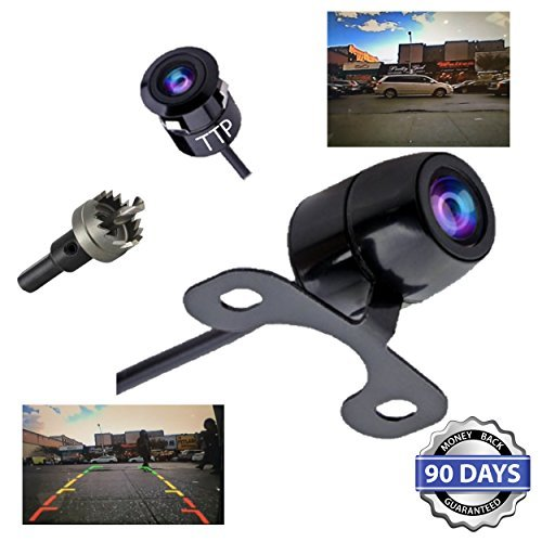 TTP C12B Backup Camera 2-in-1, Rear View, Front View - Reverse Camera - Best For Trucks, Cars, Rv & All Vehicles - 100% Waterproof (Honda Quad Head Lights compare prices)