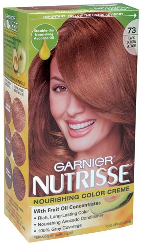 Garnier Nutrisse Haircolor, 73 Dark Golden Blonde Honeydip