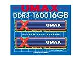 UMAX Cetus DCDDR3-16GB-1600 8GB*2