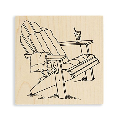 Stampendous Single Adirondack Rubber Stamp