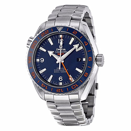 Omega Planet Ocean Blue Dial Stainless Steel Mens Watch 232.30.44.22.03.001 (Omega Seamaster Blue compare prices)