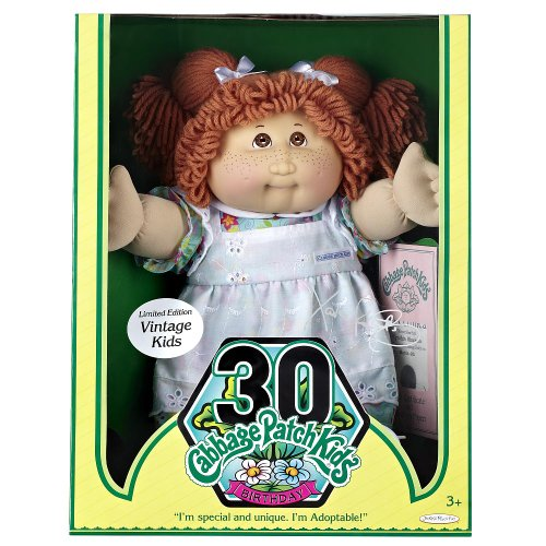 30 limited edition cabbage patch dolls