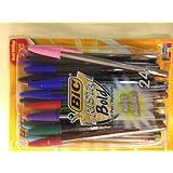 BIC Cristal Bold Ball Pen 24pk Assorted