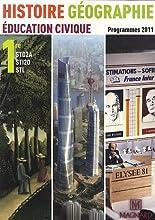 Histoire Géographie 1re STI2D STD2A STL : Programmes 2011