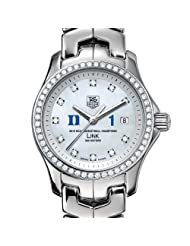 Duke University Women's TAG Heuer Link Watch with Diamond Bezel - Champs
