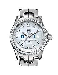Cheap Price Duke University Women's TAG Heuer Link Watch with Diamond Bezel - Champs Deals