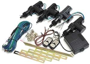 【シードスタイル】キーレスエントリーキット  アンサーバック機能搭載 アクチュエーター4台/リモコン付き