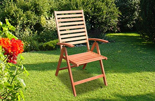 2-er Set Gartensessel Gartenmöbel Klappsessel 25200 Eukalyptus online bestellen