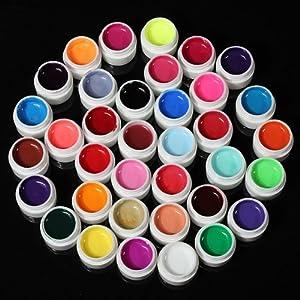 36 Colors Transparent UV GEL Nail Extension