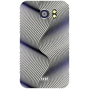 Micromax Canvas 2 A110 Back Cover - Abstract Designer Cases