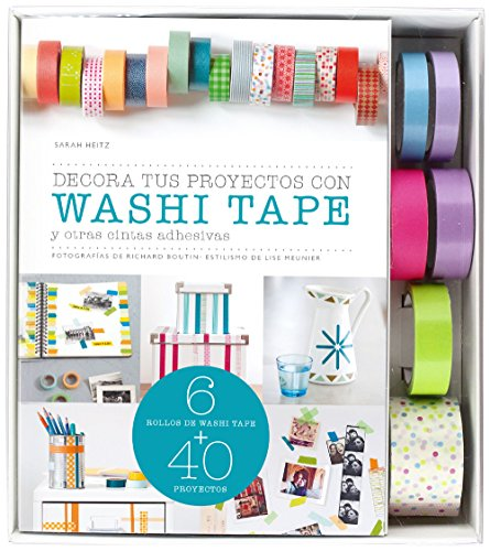 Kit Decora Tus Proyectos Con Washi Tape (Kits Cúpula)