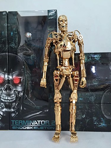 Gmasking Terminator 2 T800 Endoskeleton Movable Joints Action Figure NEW 1:4 Replica