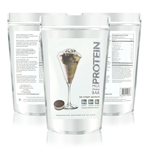 Vanilla Ice Cream Sandwich & Chocolate Cookie Confetti Protein Powder For Women - Voted Best Tasting Protein Powder - Creamy & Fluffy - 22g Protein | Low Carb | Gluten Free | Soy Free | rGBH Hormone Free | Naturally Sweetened with Organic Stevia | Formulated For Optimal Fat Loss - Reduces Appetite & Cravings, 1.2 lb