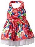 Little Lass Baby-girls Infant 1 Piece Dress with Slip