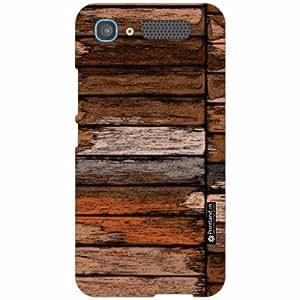 Intex Aqua Y2 Pro Back Cover - Silicon Wood Designer Cases
