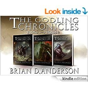 The Godling Chronicles : Bundle - Books 1-3