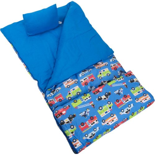 Wildkin Olive Kids Collection Heroes Sleeping Bag
