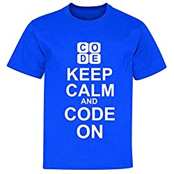 Keep Calm and Code On Youth T-Shirt