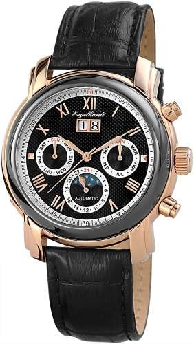 Engelhardt Men's Watch XL Analogue Automatic Leather 388731029013