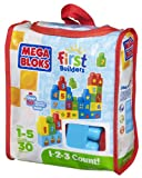 Mega Bloks Build 'n Learn 1-2-3 Count 30 piece