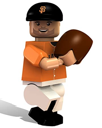OYO Baseball MLB Generation 2 Building Brick Minifigure Barry Zito [San Francisco Giants]