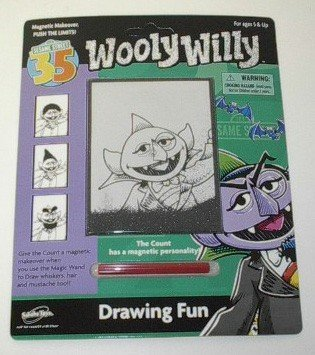 Sesame Street Wooly Willy - Count Drawing Fun