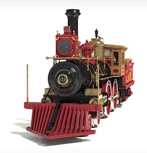 occre-rogers-union-pacific-119-wild-west-locomotive-132-scale-model-train-kit