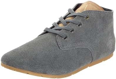 Eleven Paris Basic Color Suede, Baskets mode mixte adulte - Gris (Grey), 42 EU