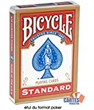 Jeu Bicycle Rouge (format poker, US Playing Card Company)