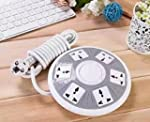 QOCOO 6 Outlet 2 USB Smart Home offic...